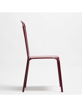 Silla forja colección Solera. Diseñadas por Gazpacho Studio.