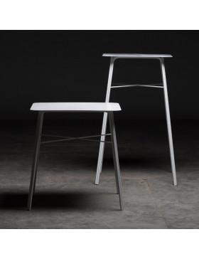 Mesas altas forja Solera