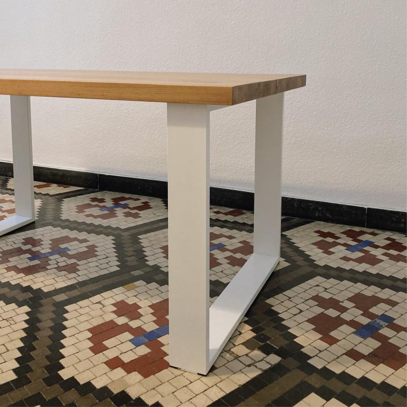 Mesa Irati con tapa de madera