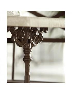 Detalle mesa modelo Mónaco c