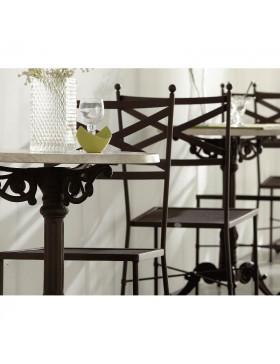 Conjunto mesa y silla modelo Mónaco