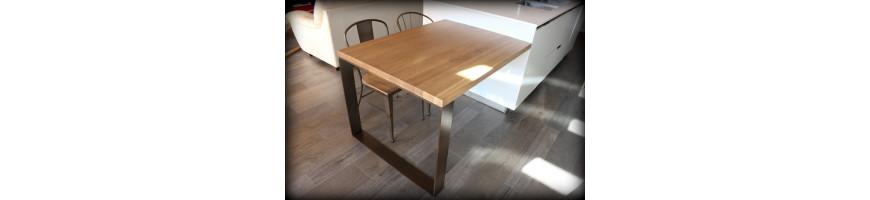 Mostradores, mesas de hierro para tiendas - comercios - Fusta i Ferro